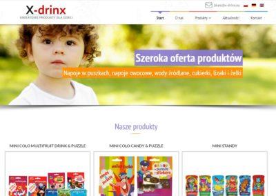 XDrinx - Produkty dla dzieci