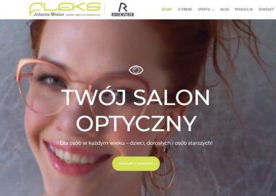 strona www optyka fleks