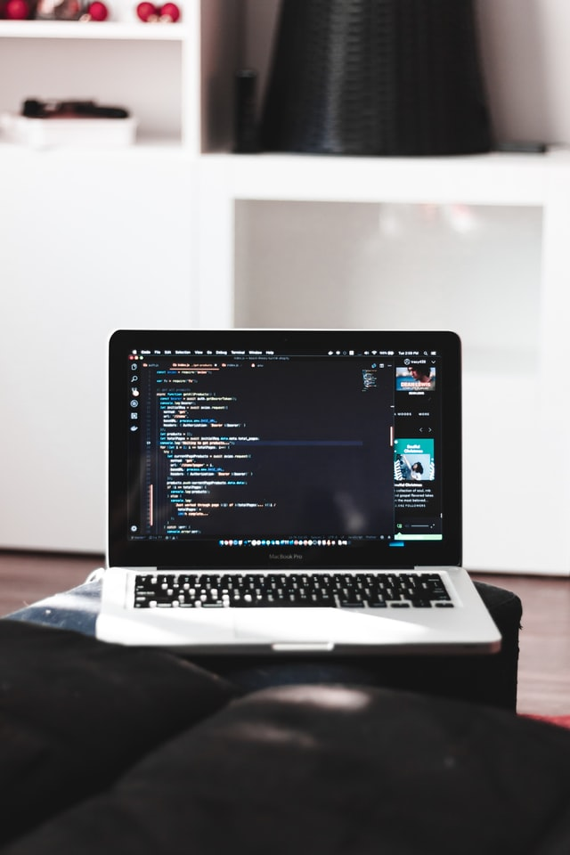web developer w pracy